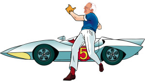 Bernie-Speed-Racer